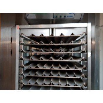 RVS Platenwagen met 20 stokbrood platen