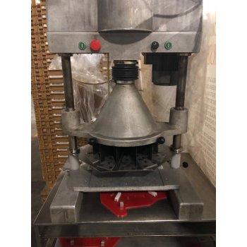 Automatische appeltaart snijmachine