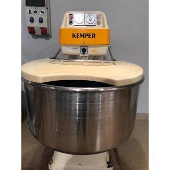 Kemper 125 kg spiraal kneder.