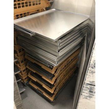 Nieuwe aluminium bakplaten 60 x 80 cm