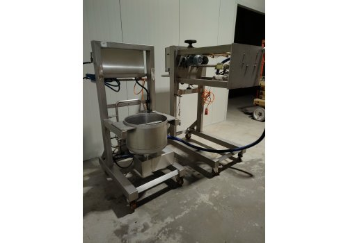 Tijgerpap installatie spuitmachine